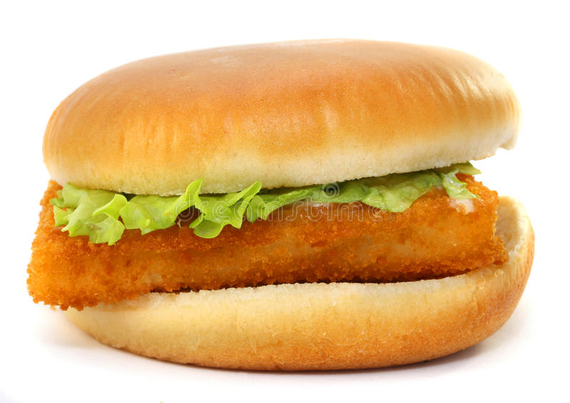 Fillet of fish sandwich stock photo image of close fish for Fish sandwich fast food