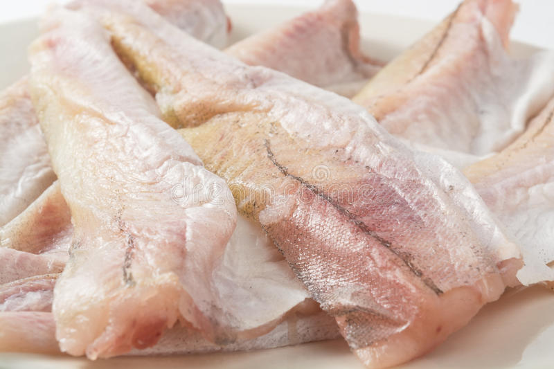 Fillet of fresh fish royalty free stock photo