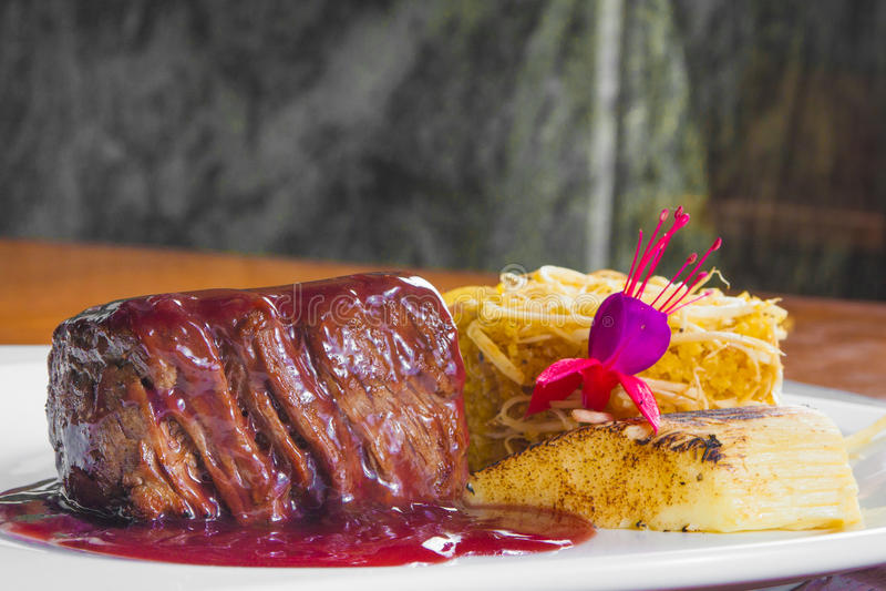 Fillet Mignon Steak royalty free stock photo