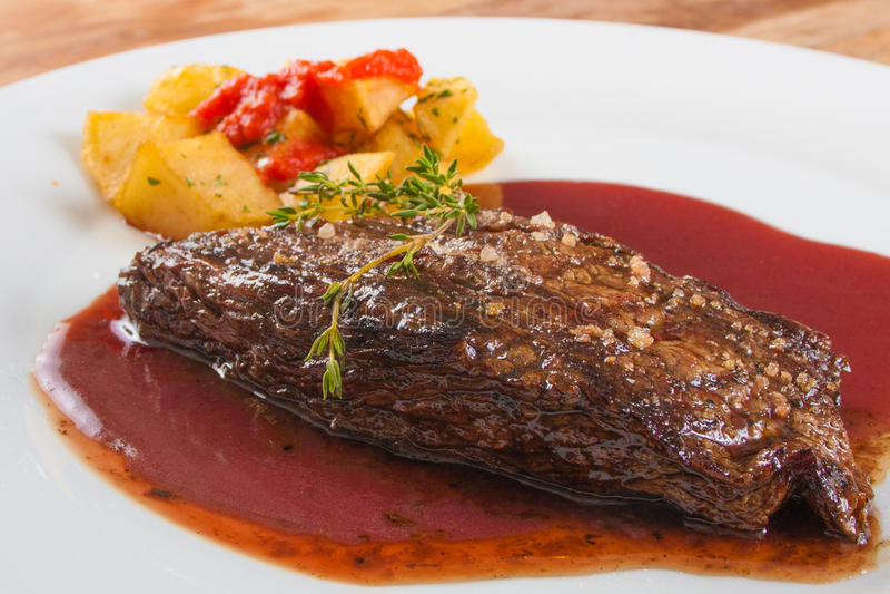 Fillet Mignon Steak stock image