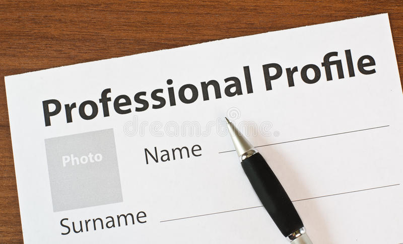 The filling in of paper documentation royalty free stock photos