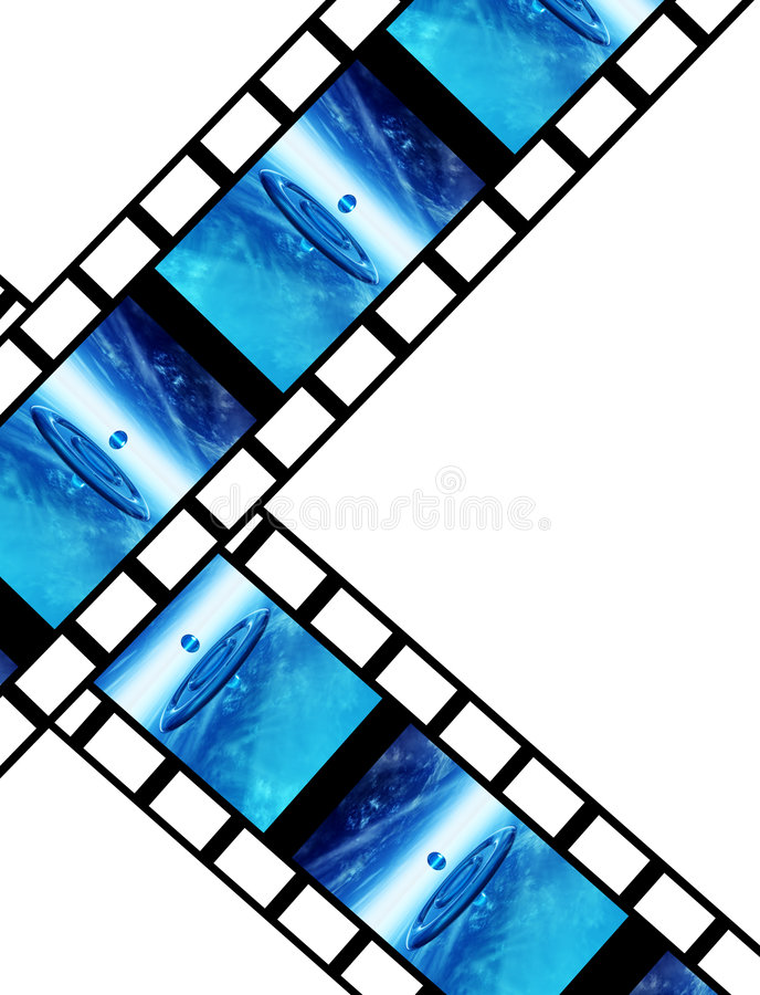 Film 12 royaltyfri illustrationer