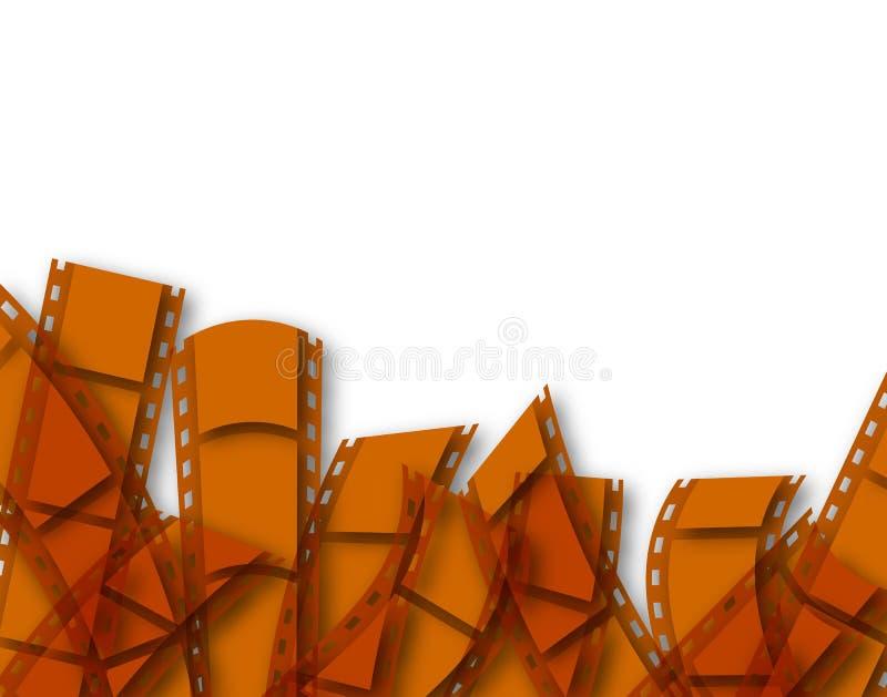 Download Film stock illustration. Image of backdrop, strip, text - 14260062