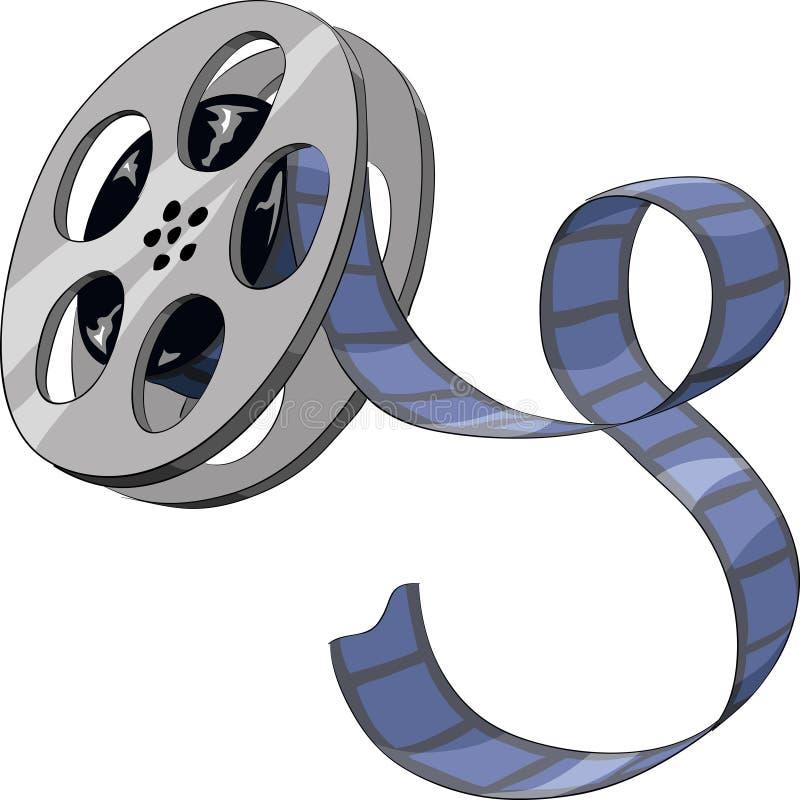 Film illustration stock