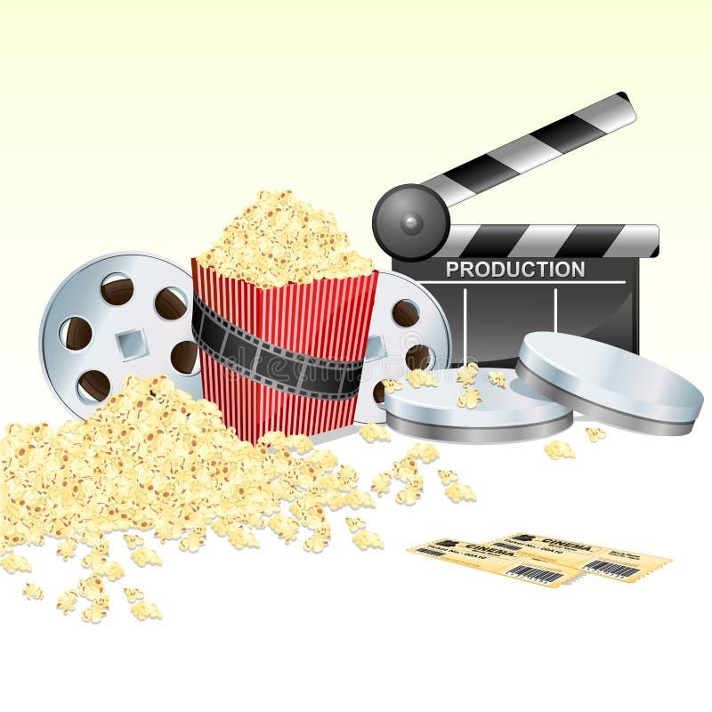 Film illustrazione di stock