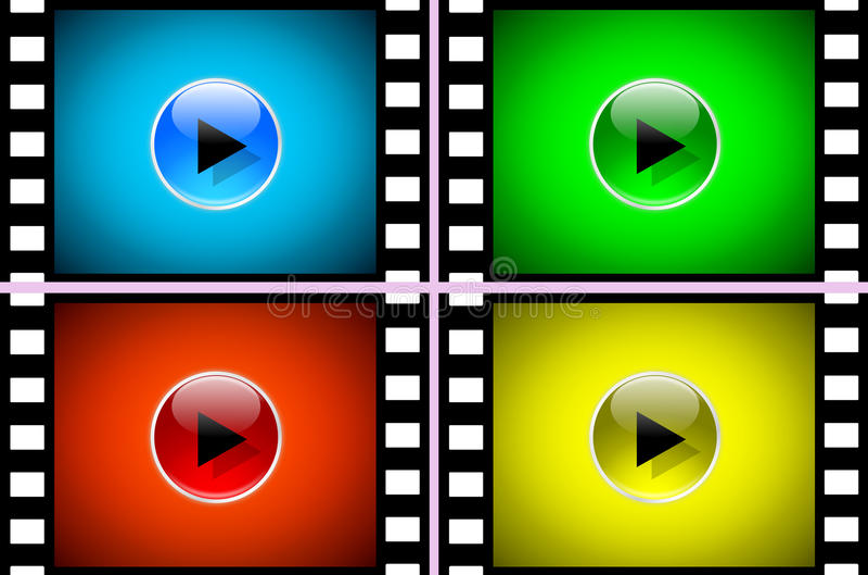 film stock illustrationer