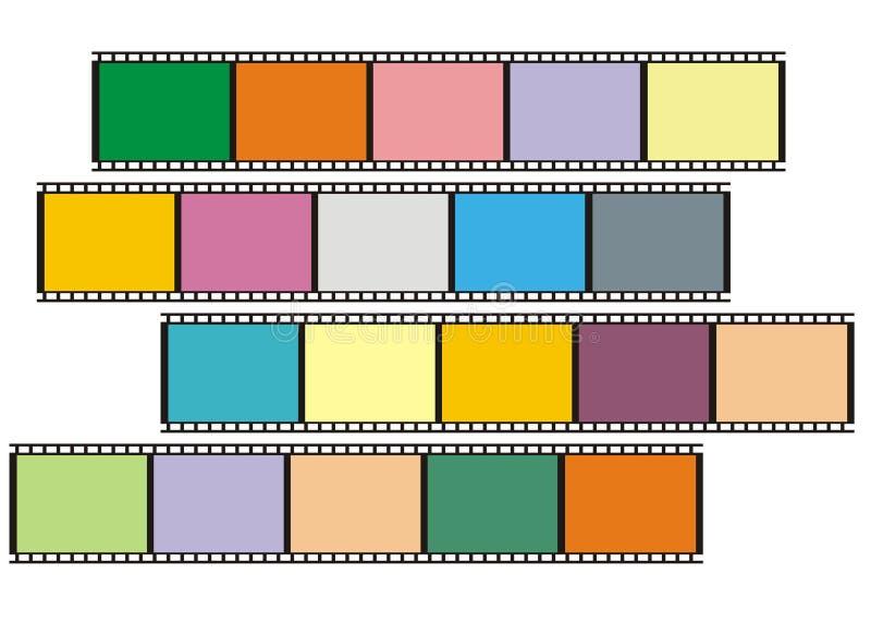 Download Film stock illustratie. Illustratie bestaande uit grafisch - 293734