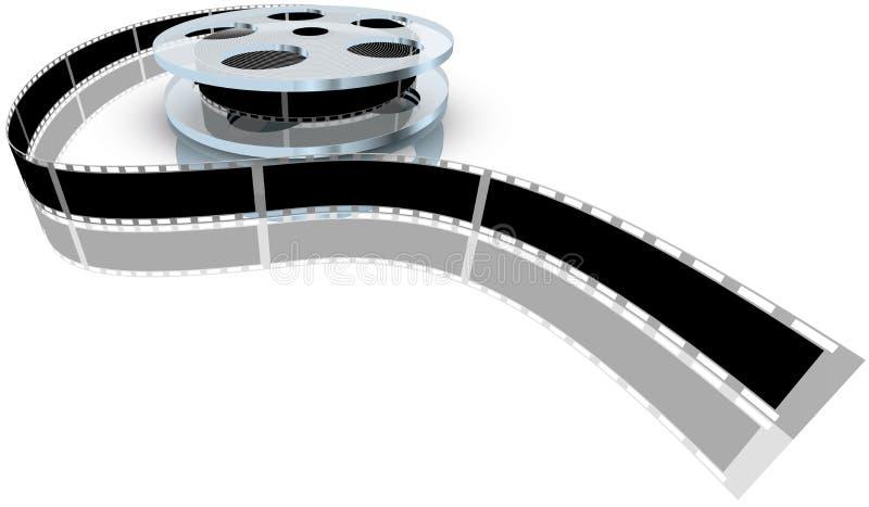 Film vektor illustrationer