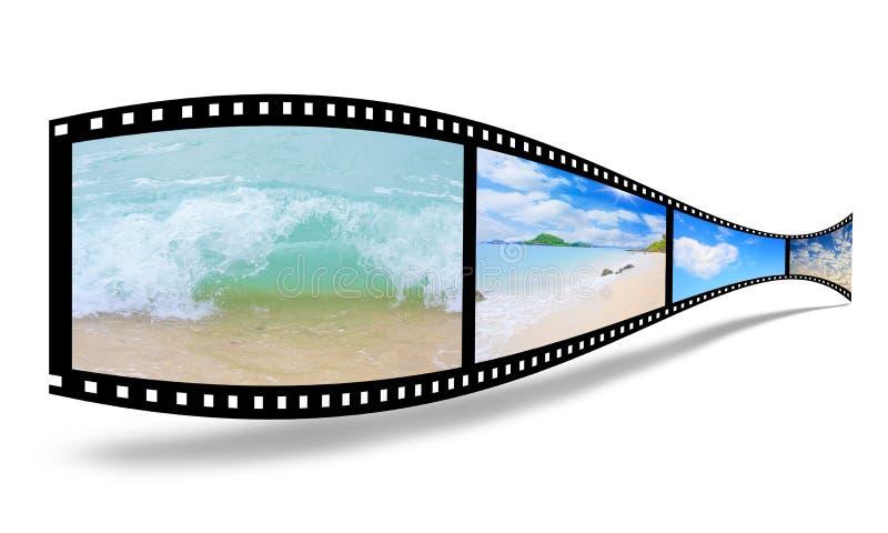 film 3D photographie stock libre de droits