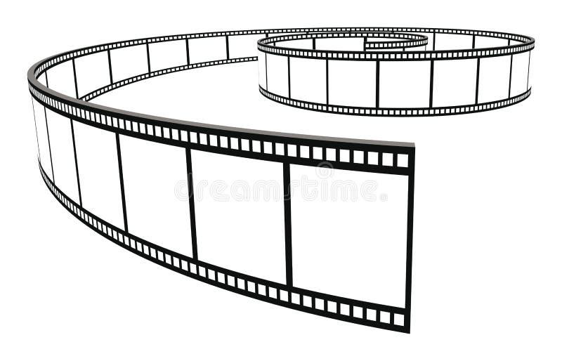 film ilustracja wektor