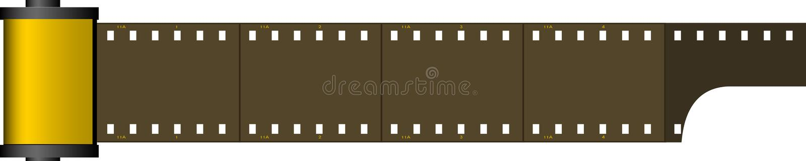 Film stock illustratie