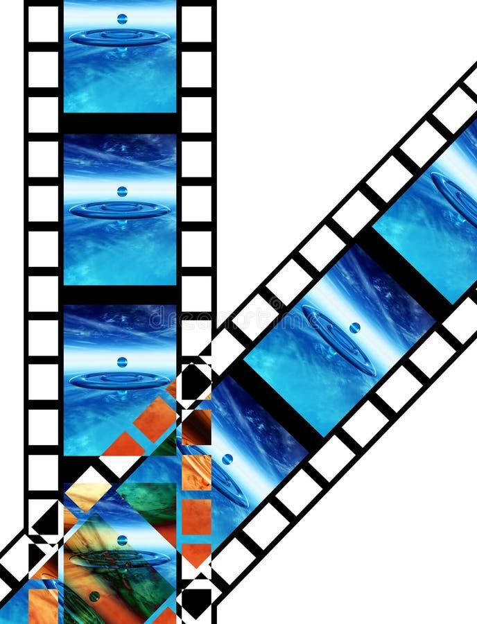 Film 9 ilustracja wektor