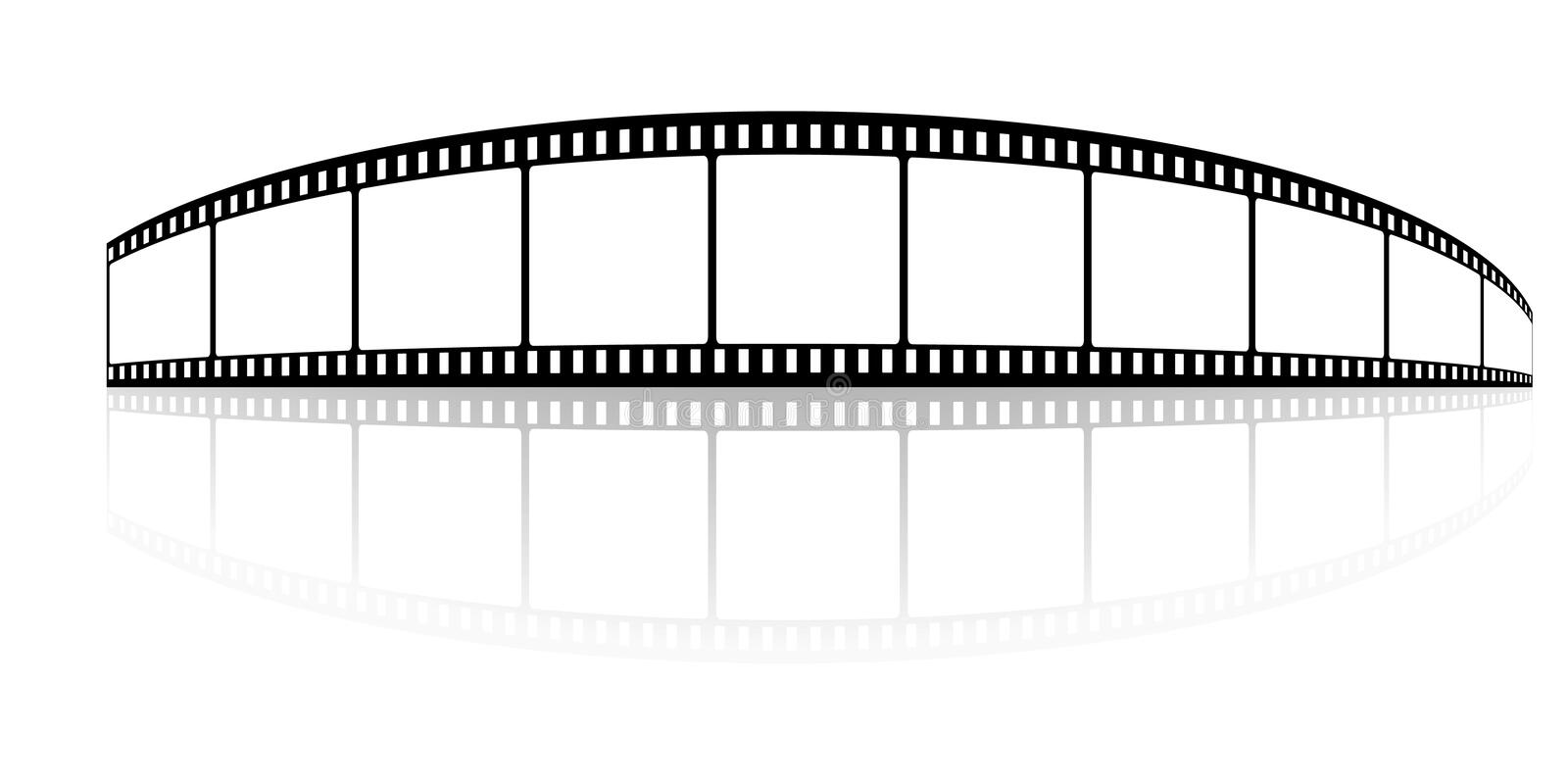 Download Film stock vector. Image of textured, retro, clip, blank - 9036600