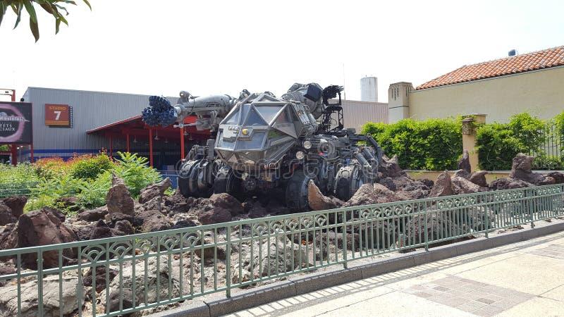 Film Armagedon Disneyland Paris stockfotografie