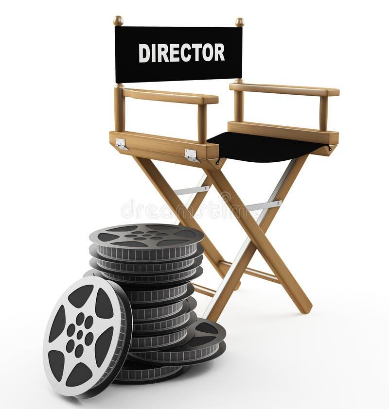 Film background vector illustration