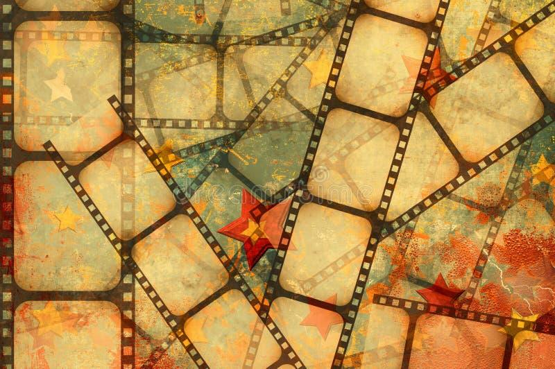 Film background stock illustration