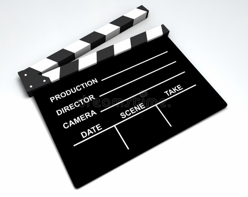 Film - bardeau illustration libre de droits