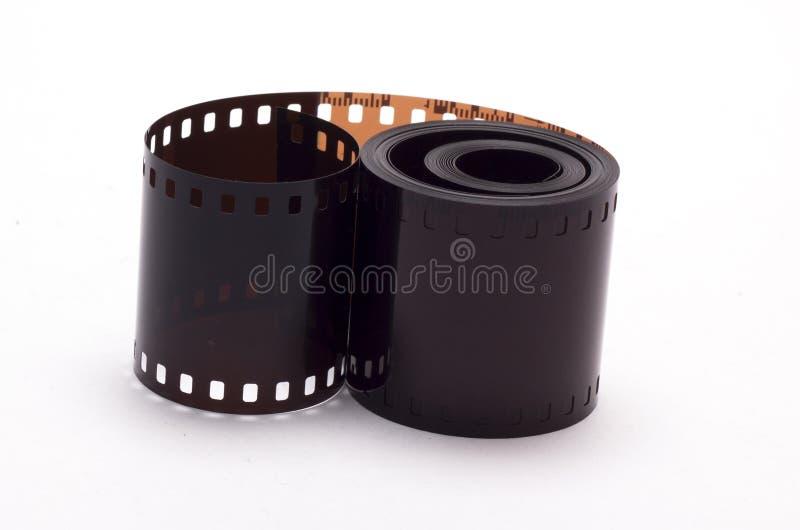 Film camera on white background royalty free stock image