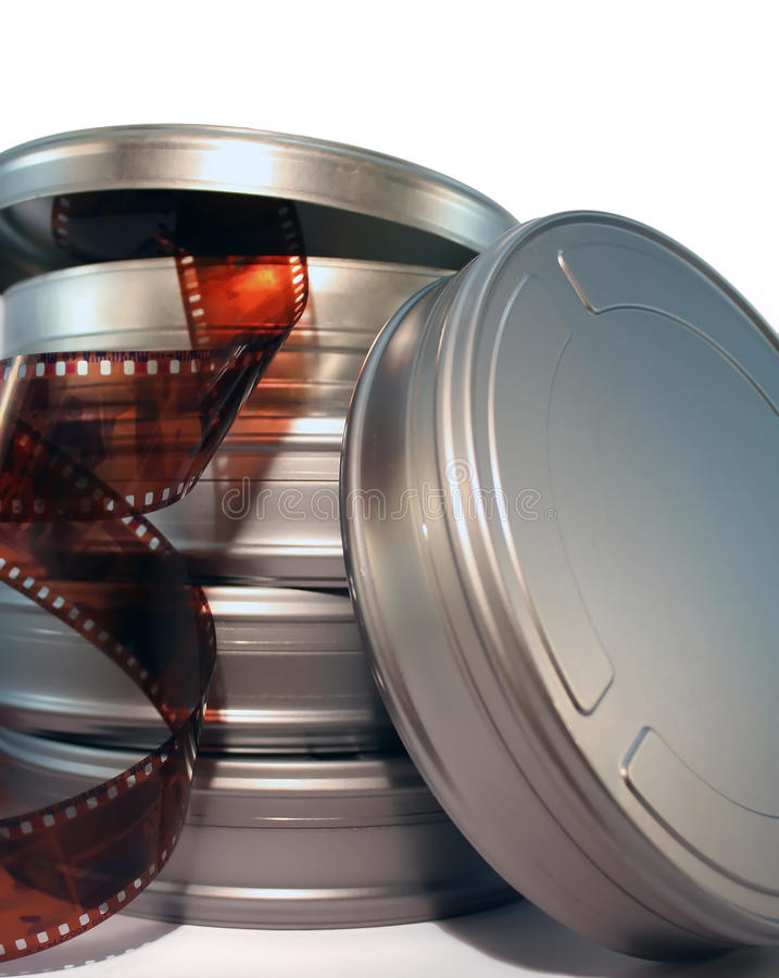 Film Canisters Royalty Free Stock Images