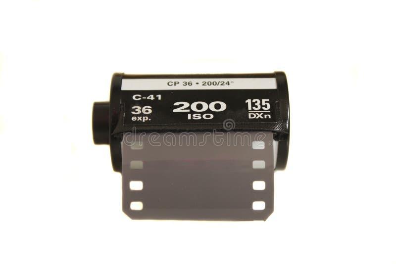 Film cassete stock photo