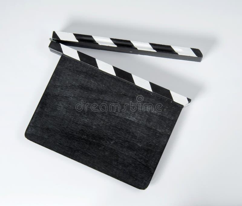 Film clap board stock photos