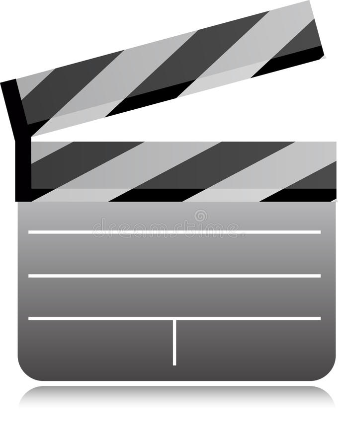 Download Film Clapboard stock vector. Image of director, board - 18304045