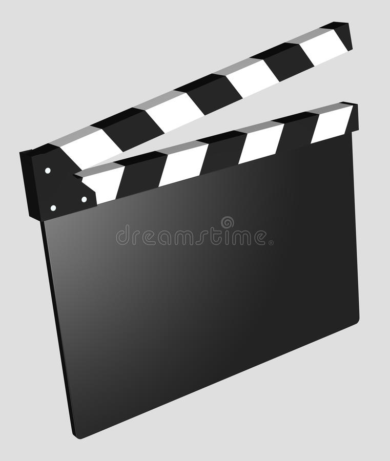 Download Film - Clapboard Empty Isolated Stock Illustration - Image: 14103471