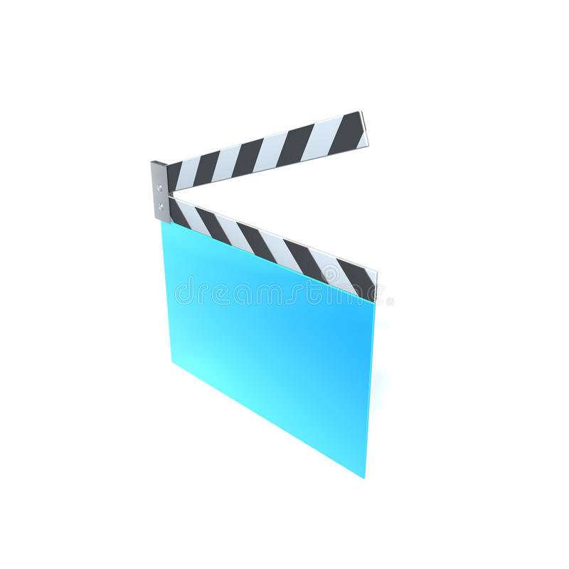Film Clapper Stock Image