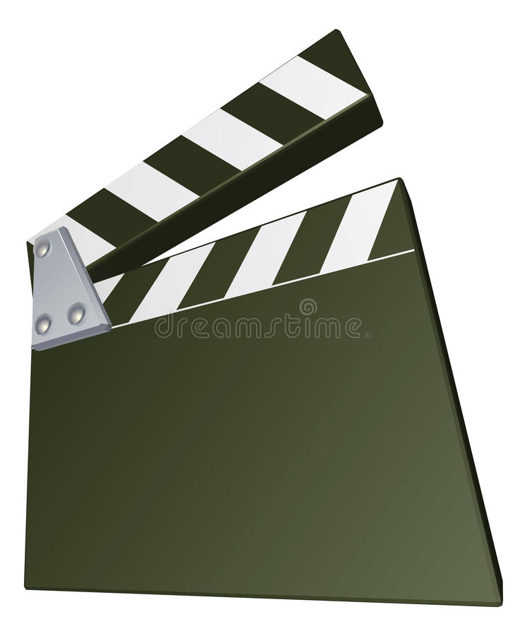 Download Film clapperboard stock vector. Illustration of clapboard - 20112042