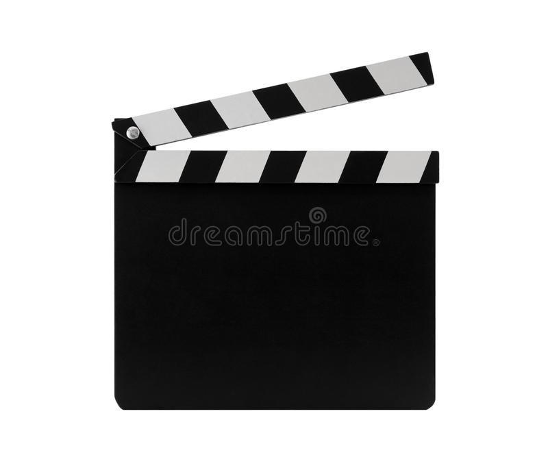 Film clapperboard royalty free stock photography