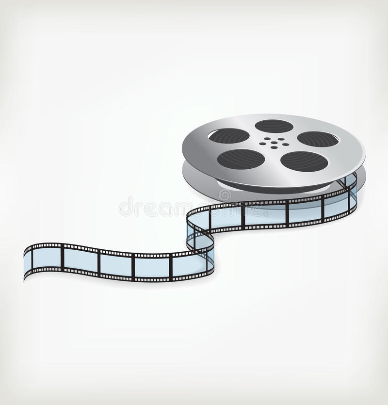 Download Film coil stock vector. Image of rendering, digital, entertainment - 27466709