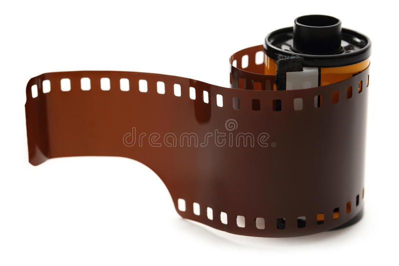 Film for color prints stock photography