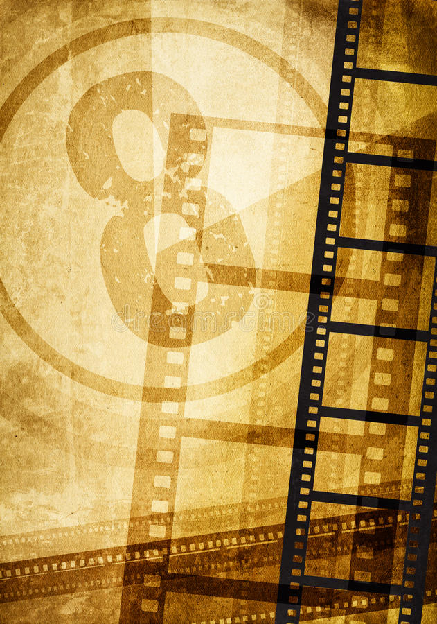 Download Film concept stock illustration. Image of abstract, empty - 13583081