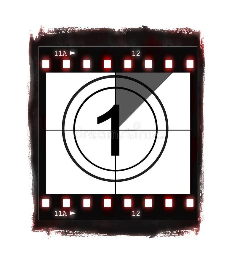 Free Film Countdown At No 1 Stock Photo - 12697240