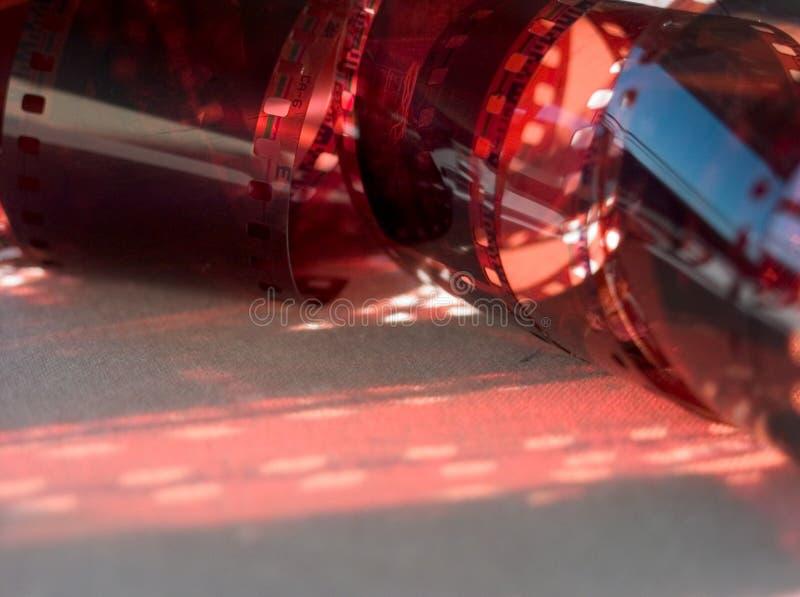 film de 35 millimètres image stock