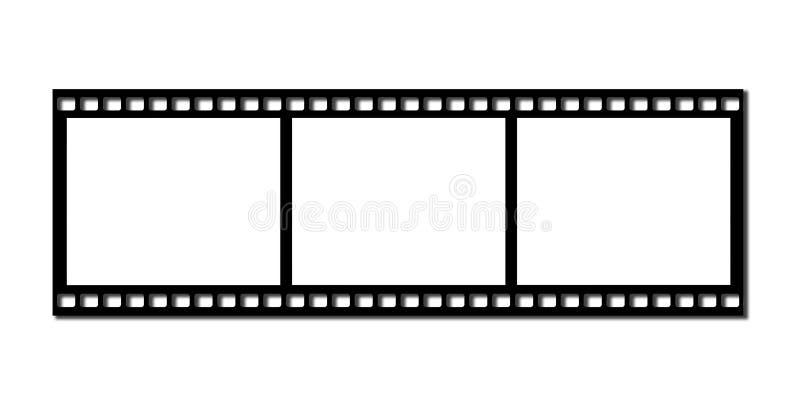 Film de bande illustration stock