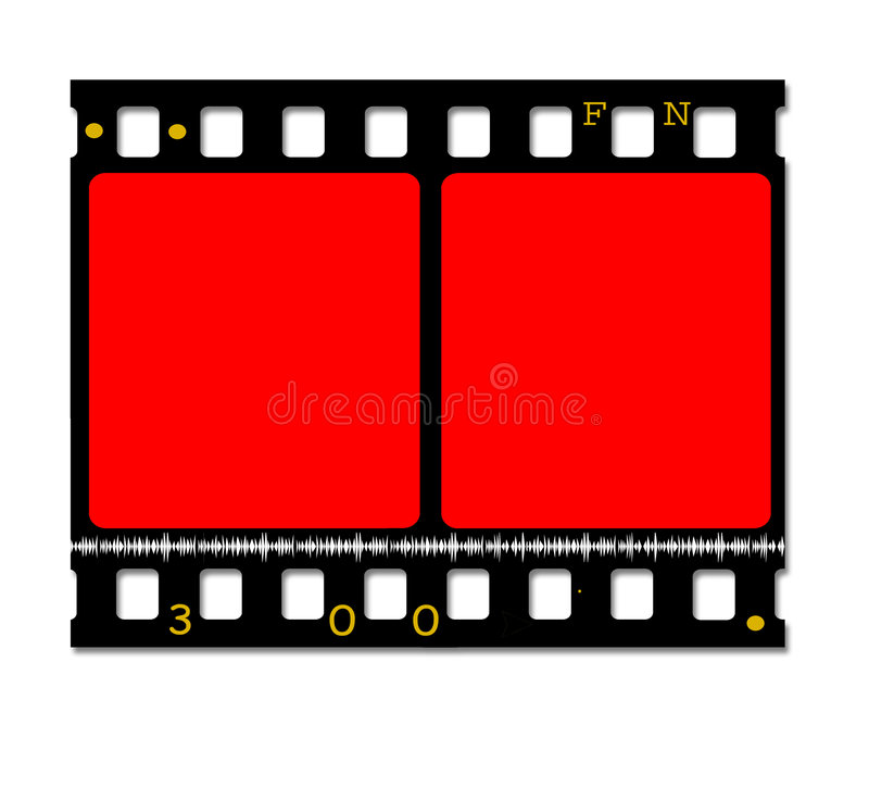 film de film de 35mm illustration stock
