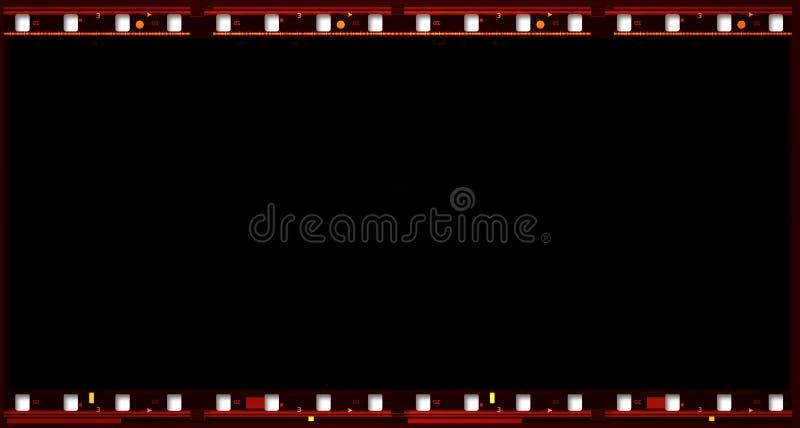 film de film de 70 millimètres illustration de vecteur