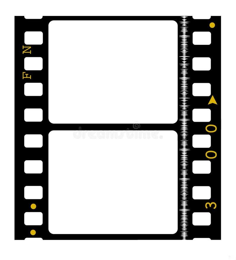 film de film de couleur de 35mm illustration libre de droits