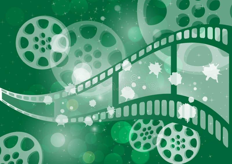 Film de fond  illustration stock