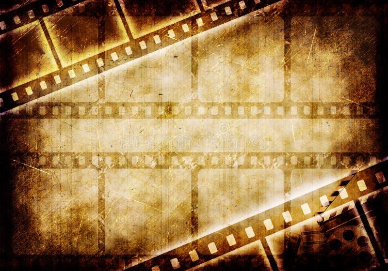 Film de grunge d'art photographie stock