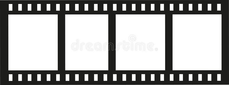 Film de petit pain d'appareil-photo illustration stock