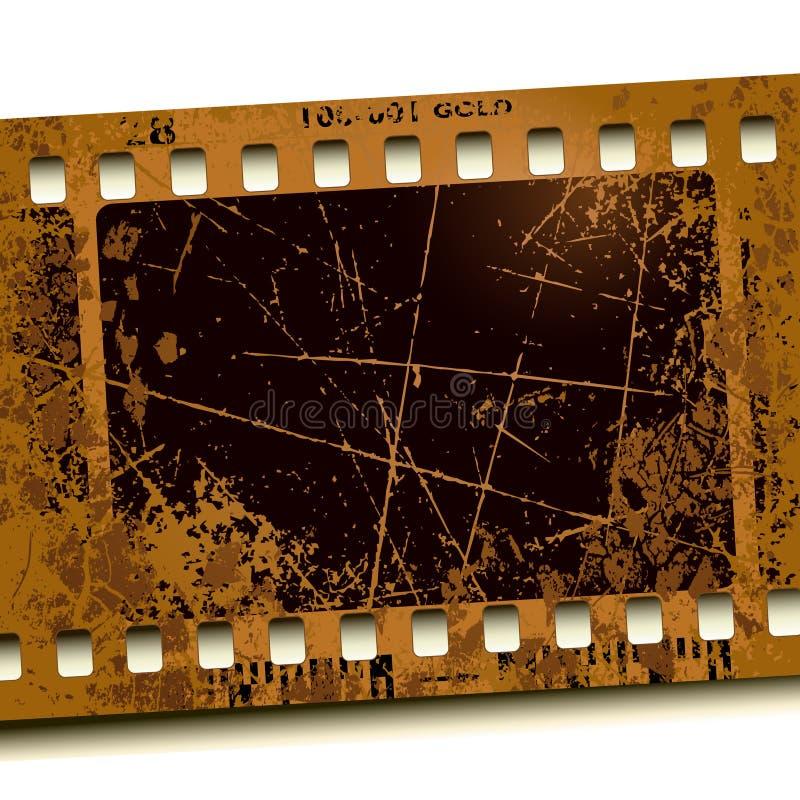 Film de photo illustration de vecteur
