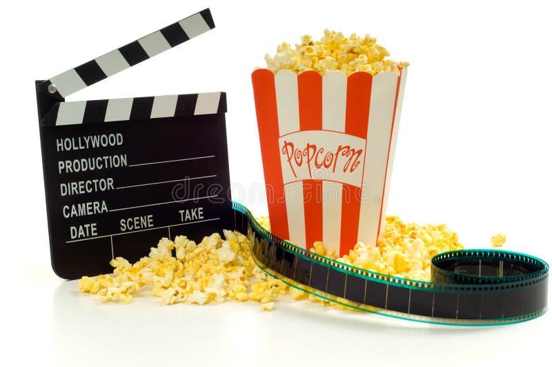 Film, de vermaakindustrie stock foto's