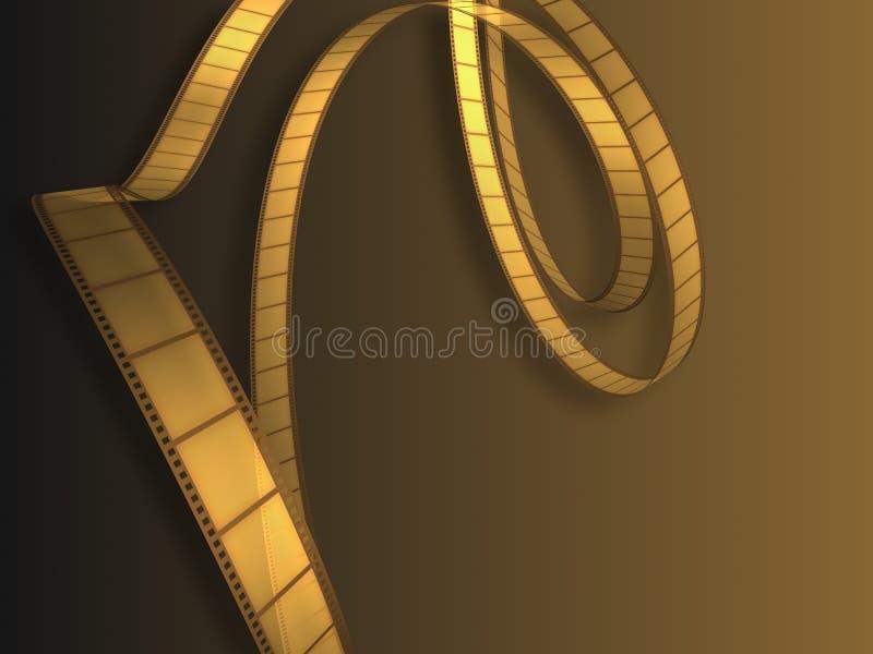 Download Film de vidéo de cinéma illustration stock. Illustration du lumière - 726217