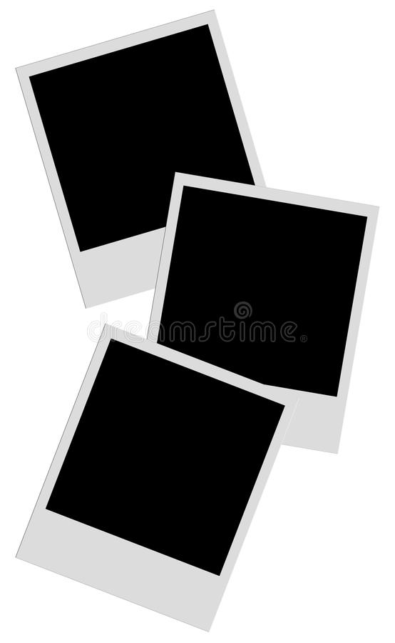 Film della polaroid fotografia stock libera da diritti