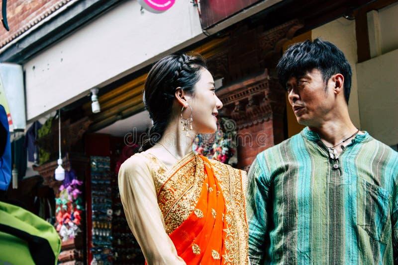 Film di azione cinese fotografie stock