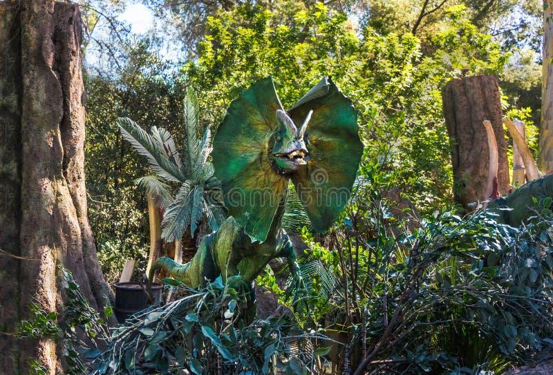 Film Dinosaurier-Universal Studioss Jurassic Park lizenzfreie stockfotografie