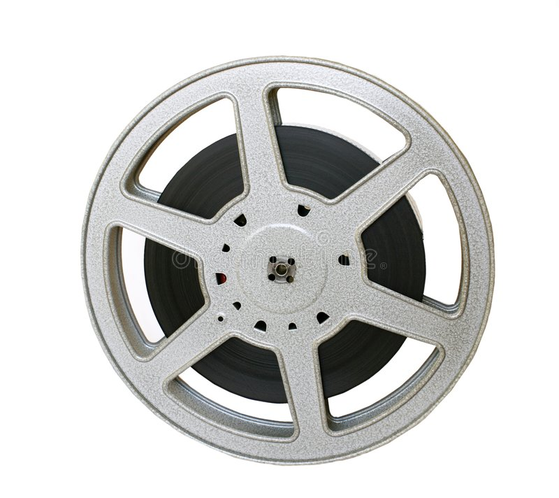 Film disk royalty free stock image