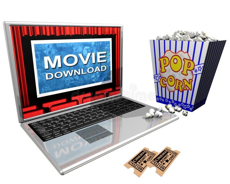 Film-Download vektor abbildung